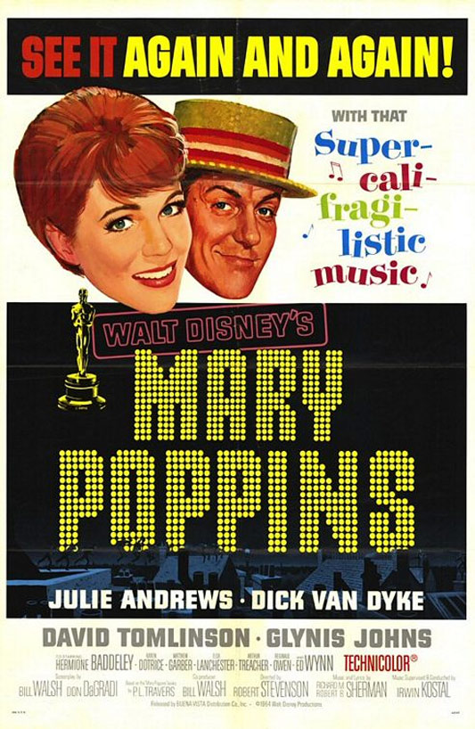 Mary Poppins Poster #1