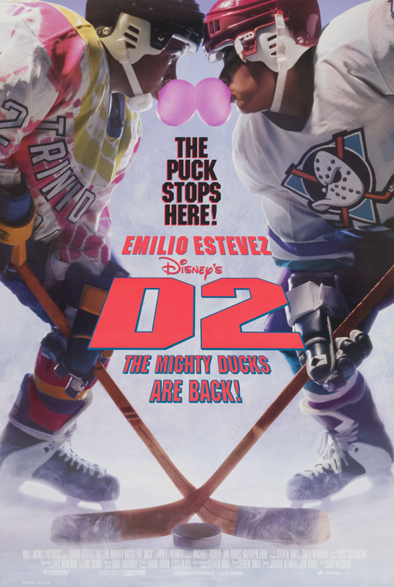 D2: The Mighty Ducks Poster #1