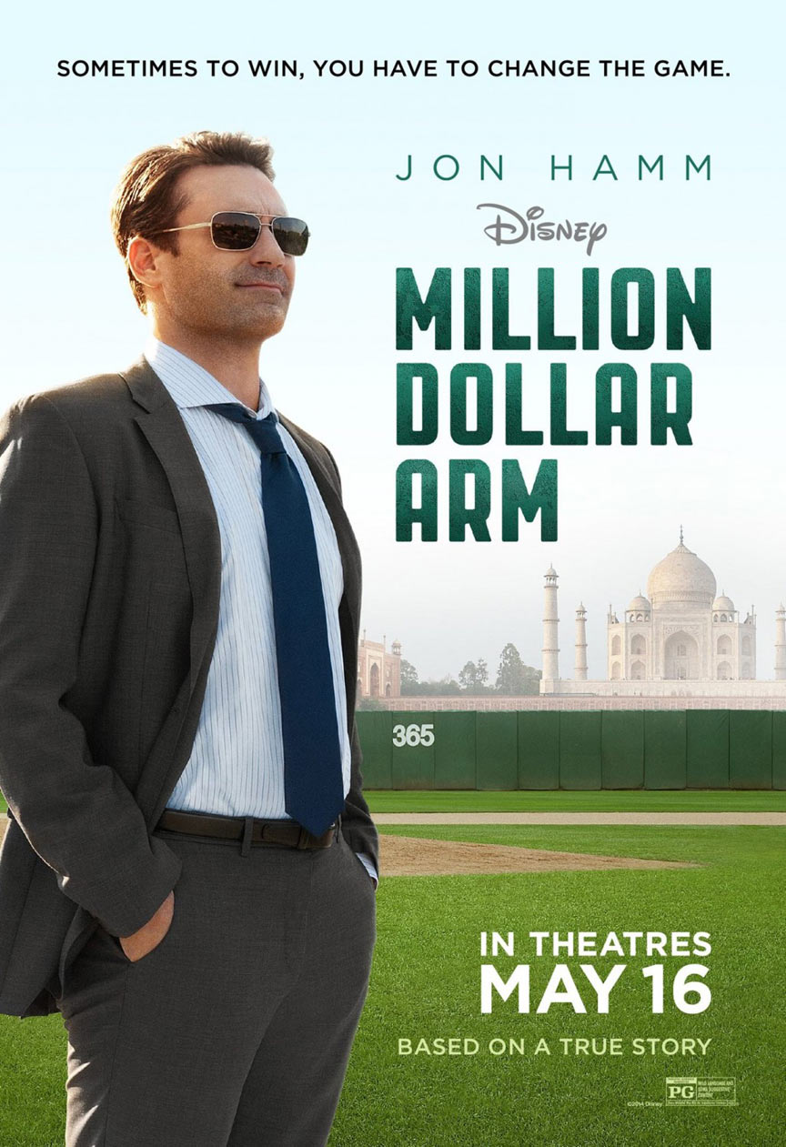 Million Dollar Arm Poster #2