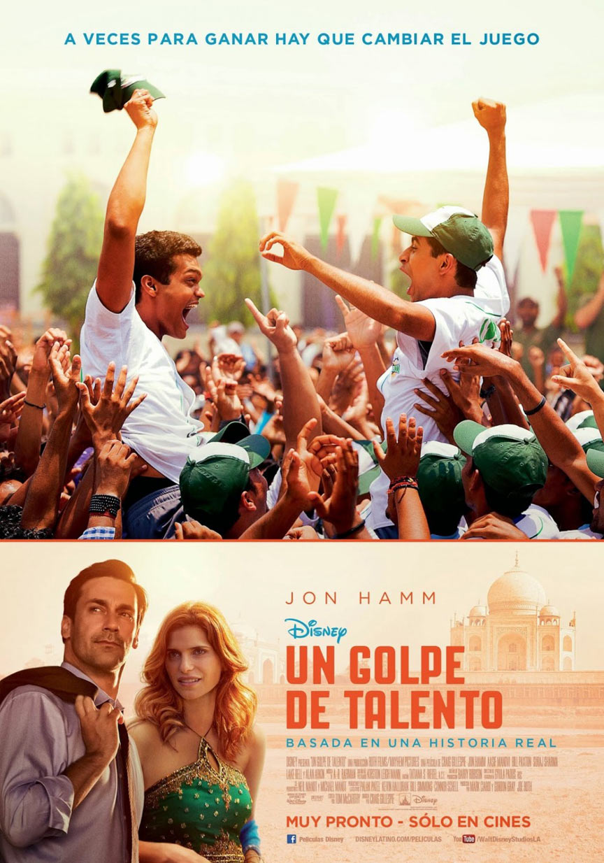 Million Dollar Arm Poster #3
