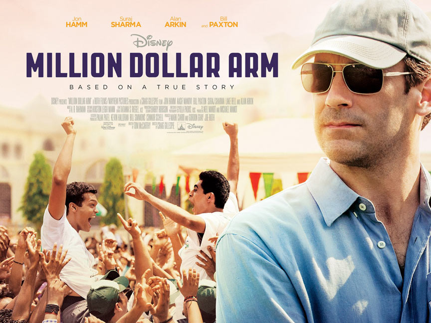 Million Dollar Arm Poster #4