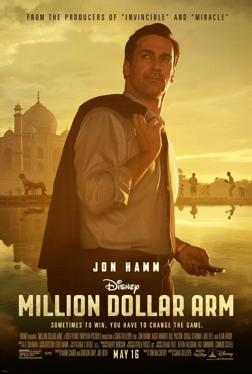 Million Dollar Arm Poster #1