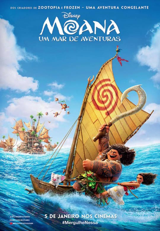 Moana (2016) Poster #1 - Trailer Addict