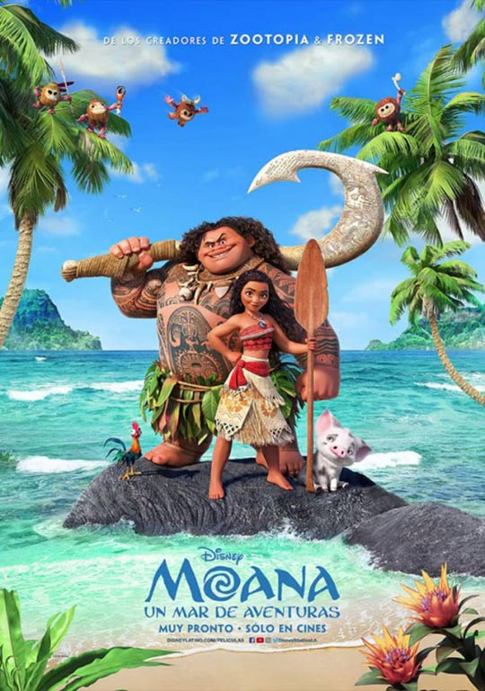 Moana (2016) Poster #10 - Trailer Addict