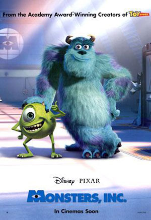 Monsters, Inc. Poster #4