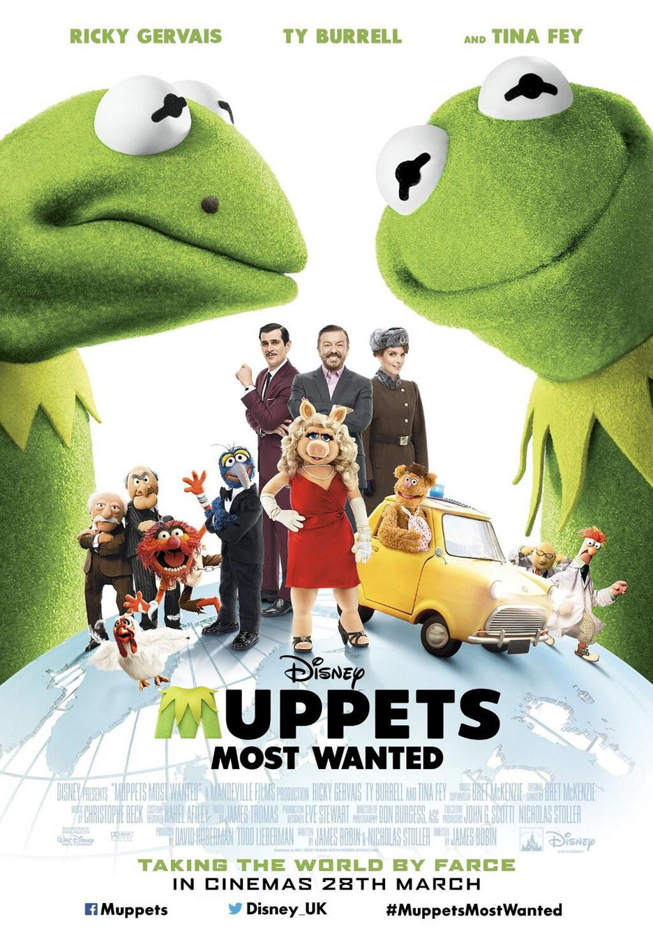 Muppets Most Wanted Poster #3