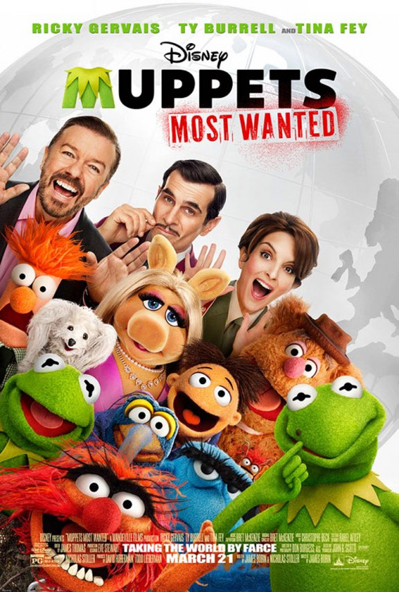 Muppets Most Wanted Poster #1