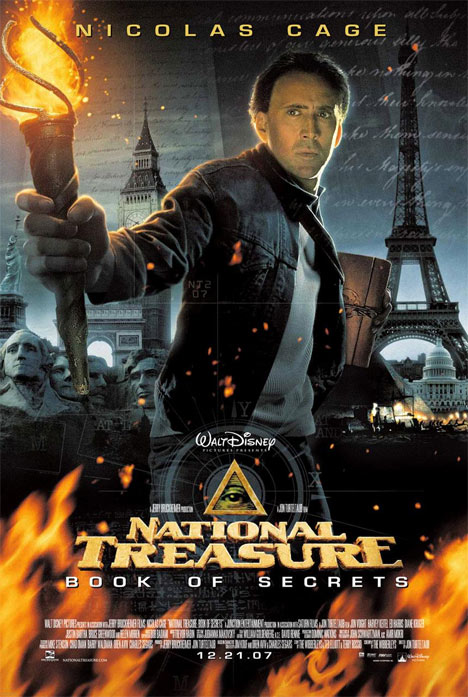 National Treasure: Book of Secrets Poster #1