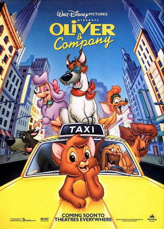 Oliver & Company Poster #2