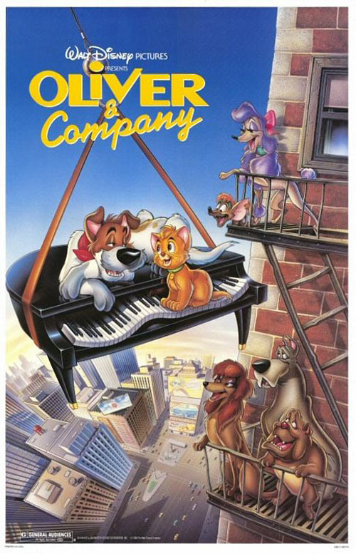 Oliver & Company Poster #1