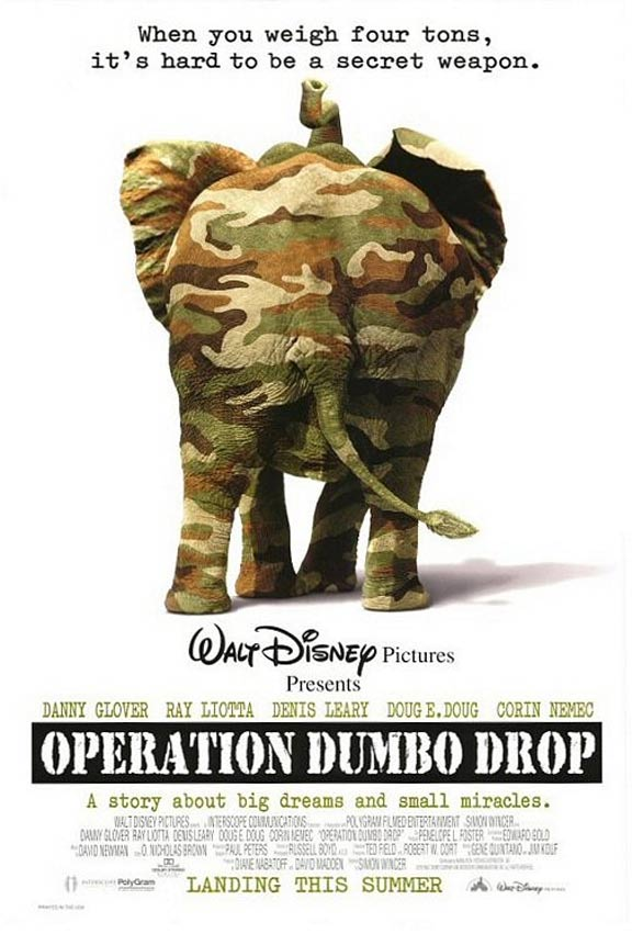 Operation Dumbo Drop Poster #1