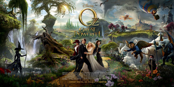 Oz The Great and Powerful Poster #5