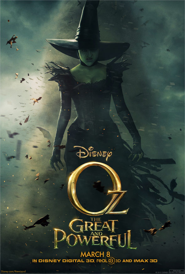 Oz The Great and Powerful Poster #6