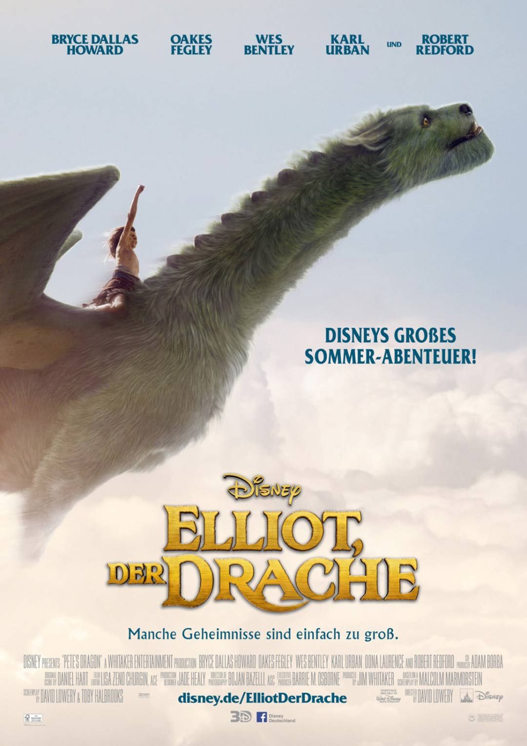 Pete's Dragon Poster #3