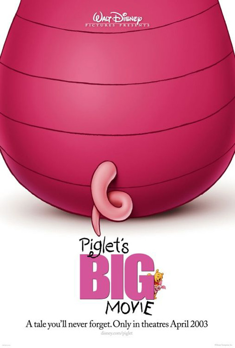 Piglet's Big Movie Poster #1
