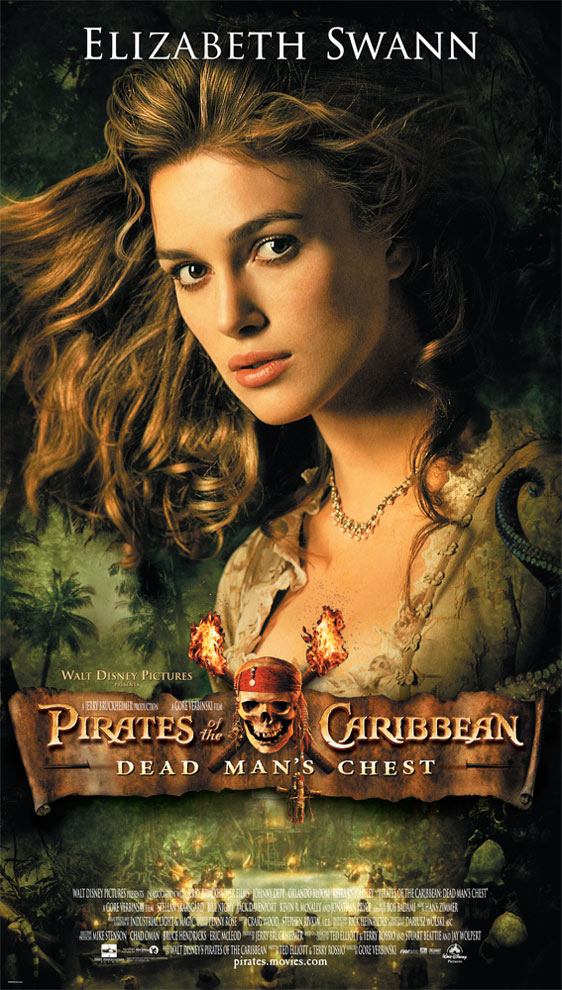 Pirates of the Caribbean: Dead Man's Chest Poster #5