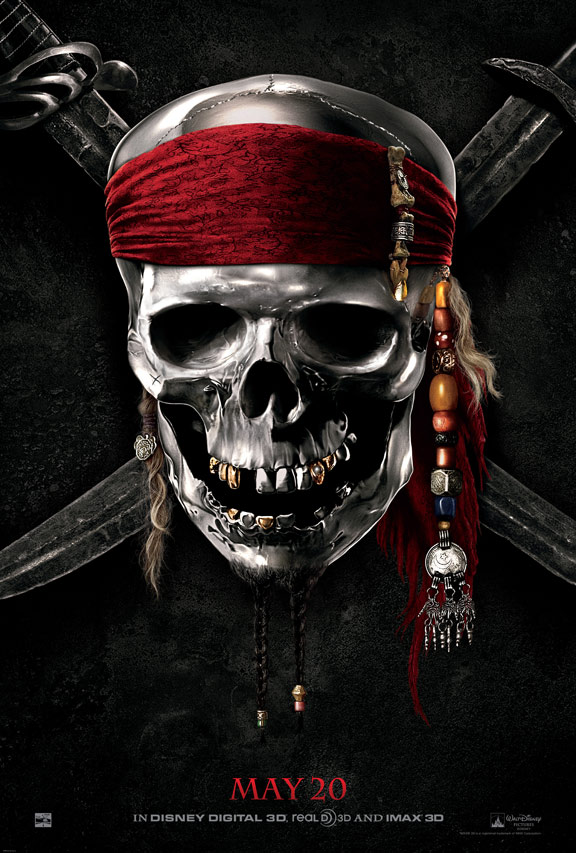 Pirates of the Caribbean: On Stranger Tides Poster #2