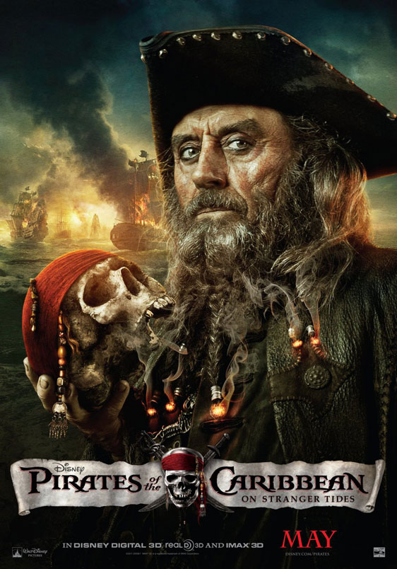 Pirates of the Caribbean: On Stranger Tides Poster #7