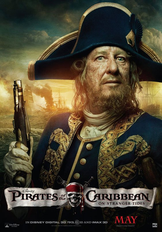 Pirates of the Caribbean: On Stranger Tides Poster #8
