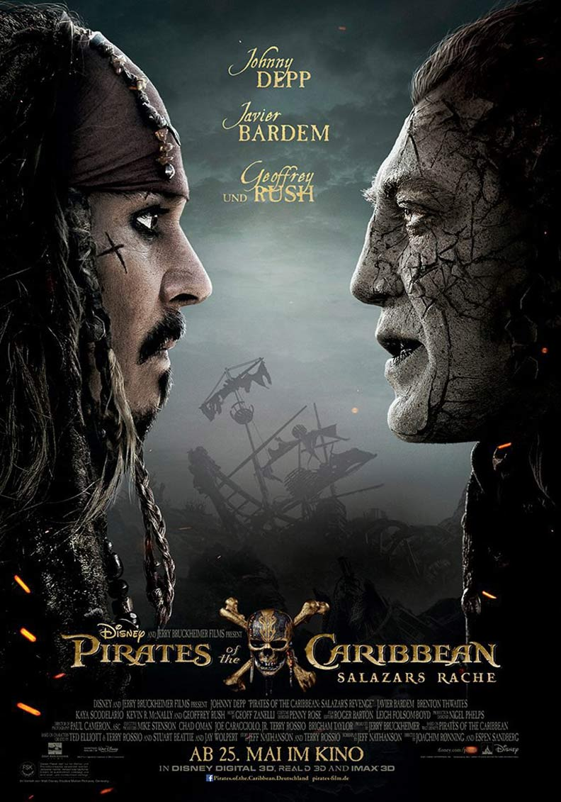 Pirates of the Caribbean: Dead Men Tell No Tales Poster #10