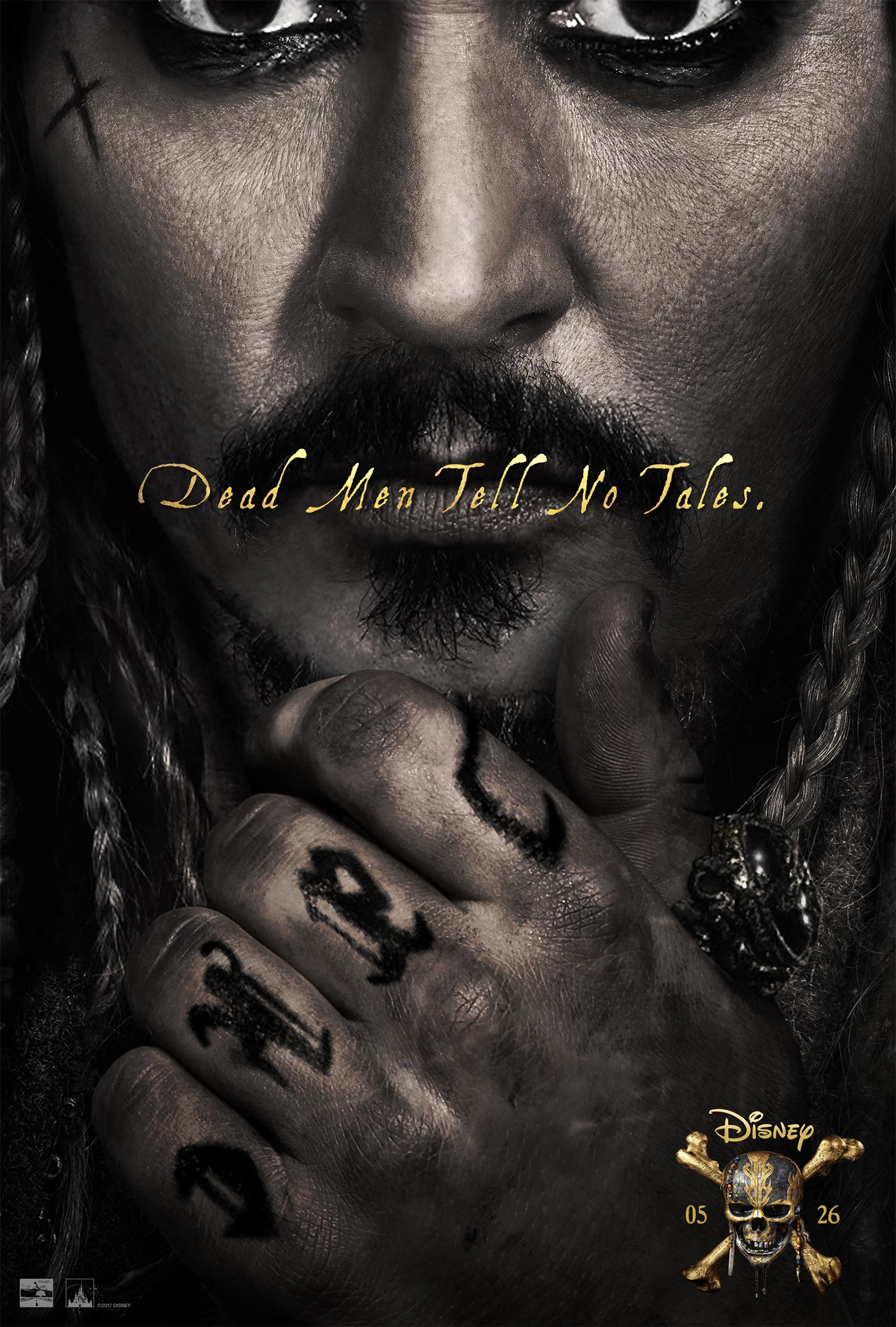 Pirates of the Caribbean: Dead Men Tell No Tales Poster #2