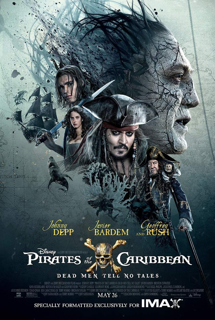 Image result for pirates of the caribbean 2017 poster
