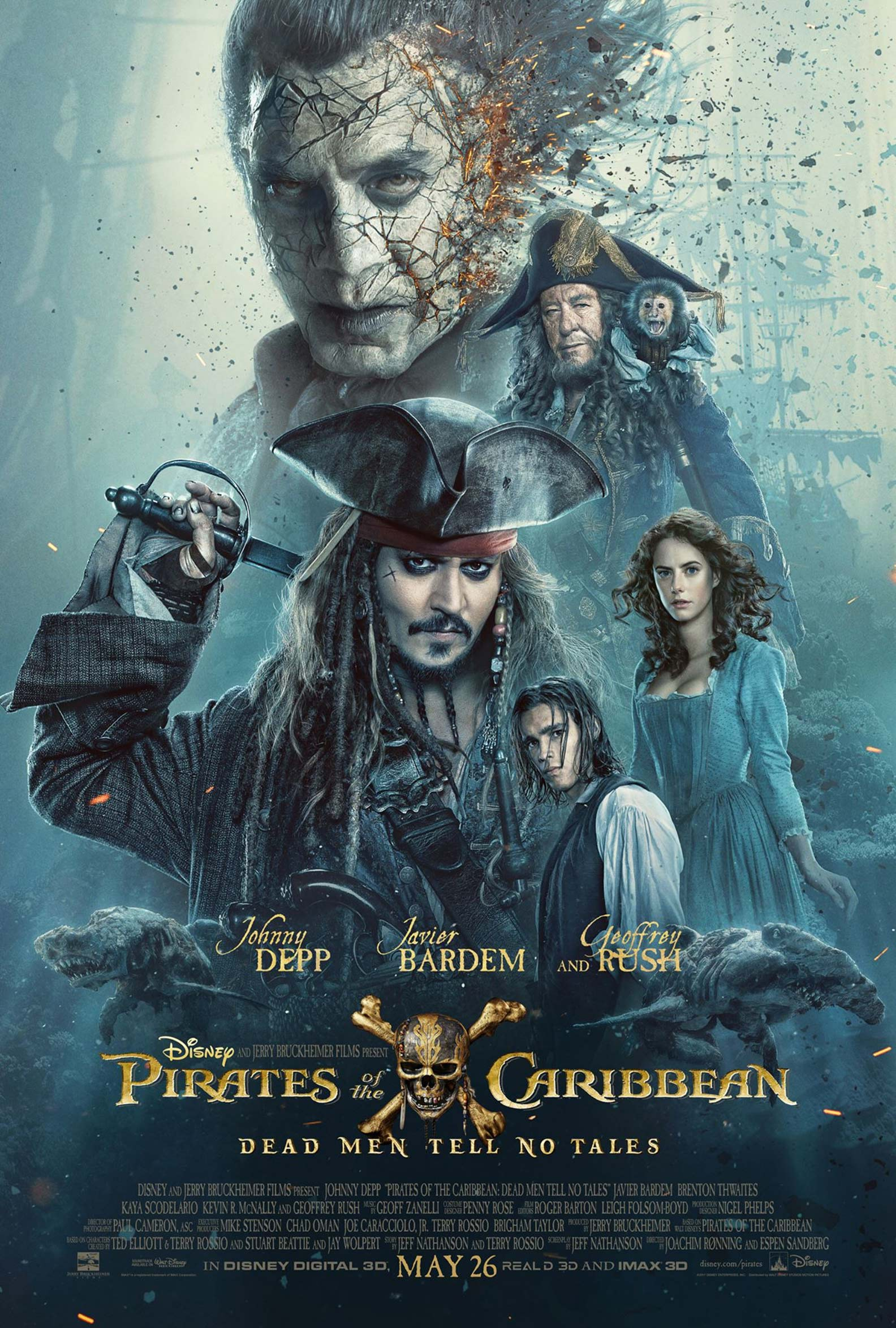 Pirates of the Caribbean: Dead Men Tell No Tales Poster #3