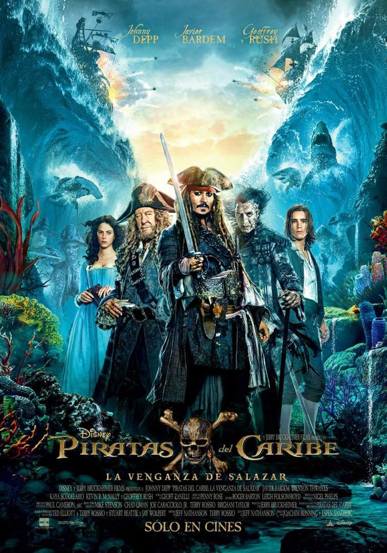 Pirates of the Caribbean: Dead Men Tell No Tales Poster #4