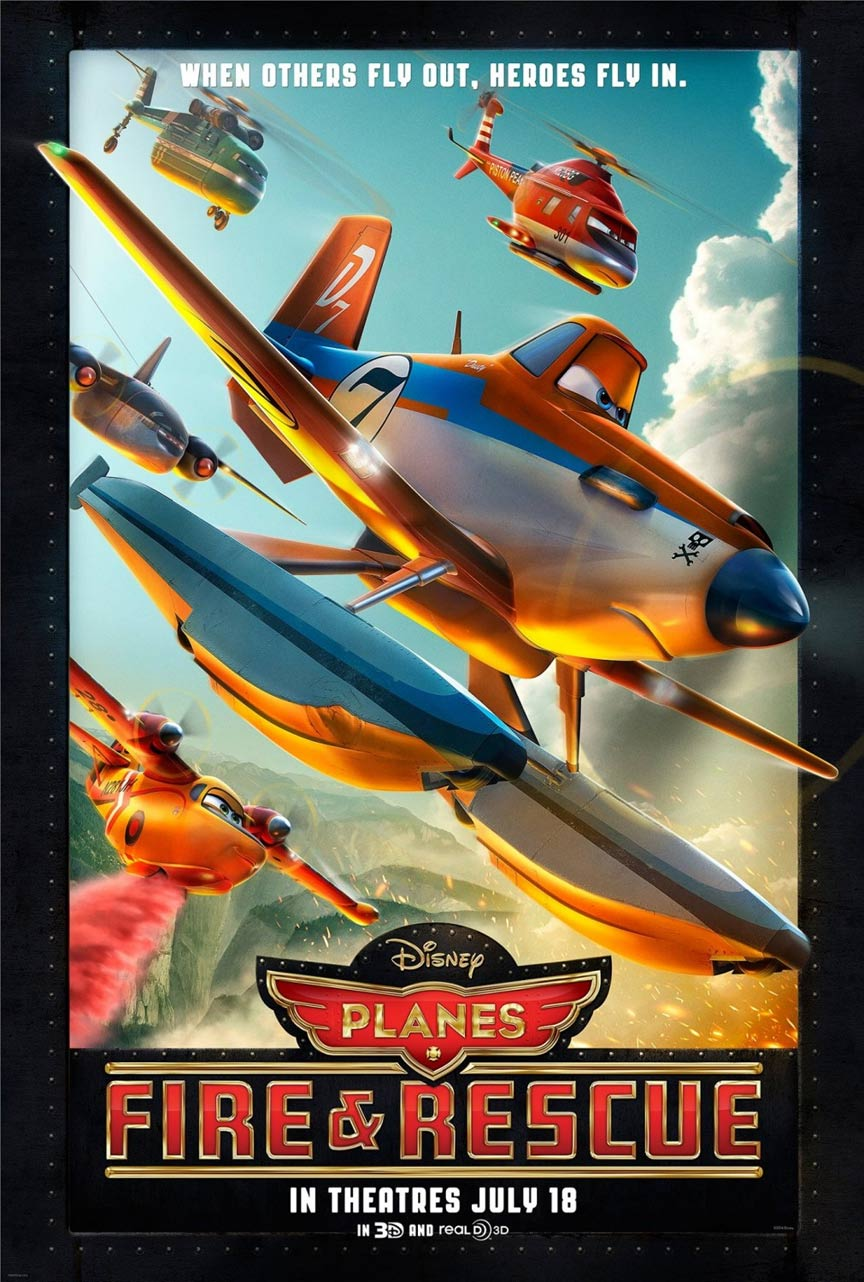 Planes: Fire & Rescue Poster #1