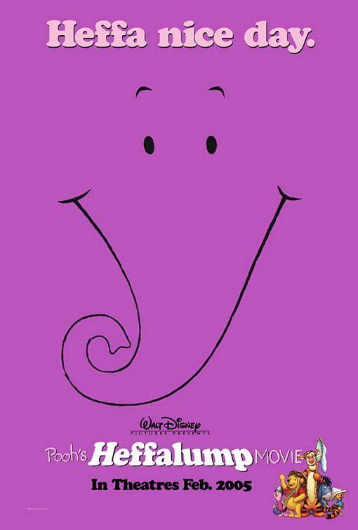 Pooh's Heffalump Movie Poster #1