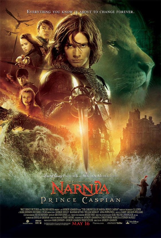 The Chronicles of Narnia: Prince Caspian Poster #2