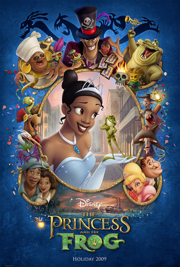 The Princess and the Frog Poster #4