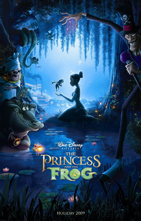The Princess and the Frog Poster #1