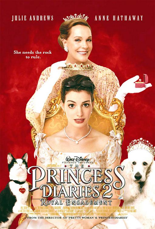 The Princess Diaries 2: Royal Engagement Poster #1