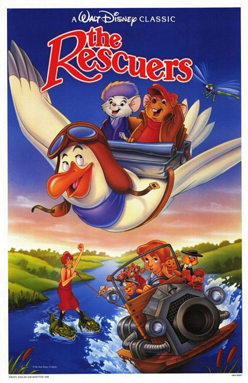 The Rescuers Poster #2