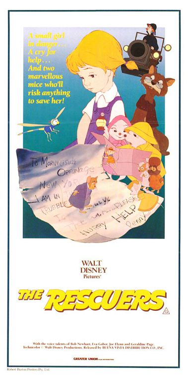 The Rescuers Poster #3