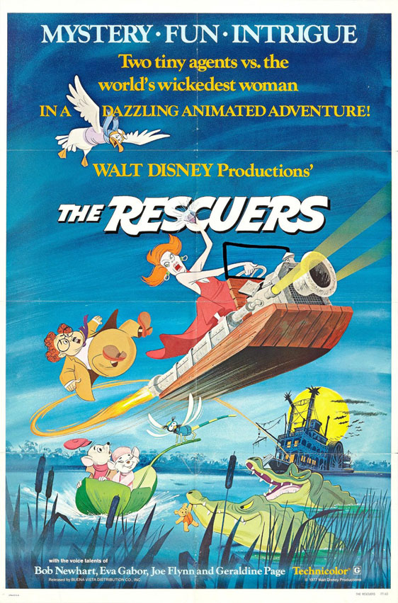 The Rescuers Poster #1