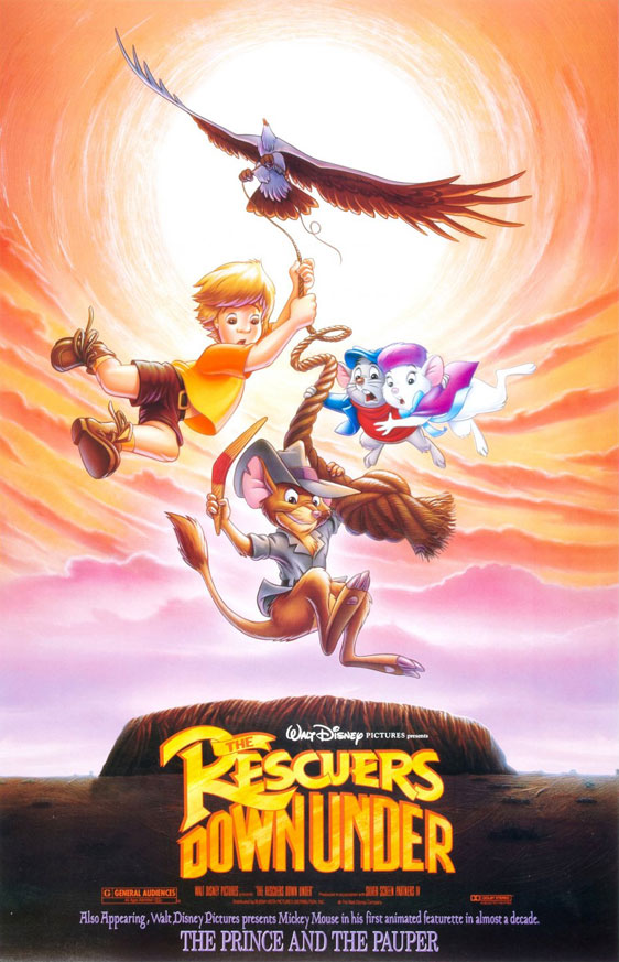 The Rescuers Down Under Poster #1