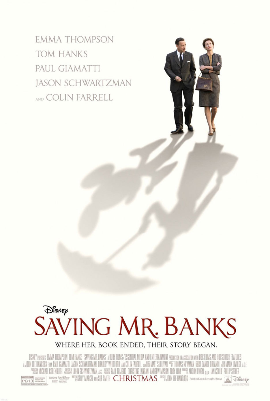 Saving Mr. Banks Poster #1