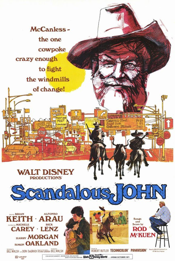 Scandalous John Poster #1