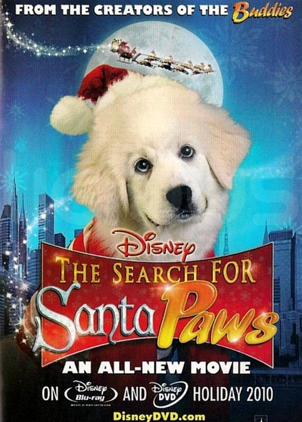 The Search for Santa Paws Poster #1