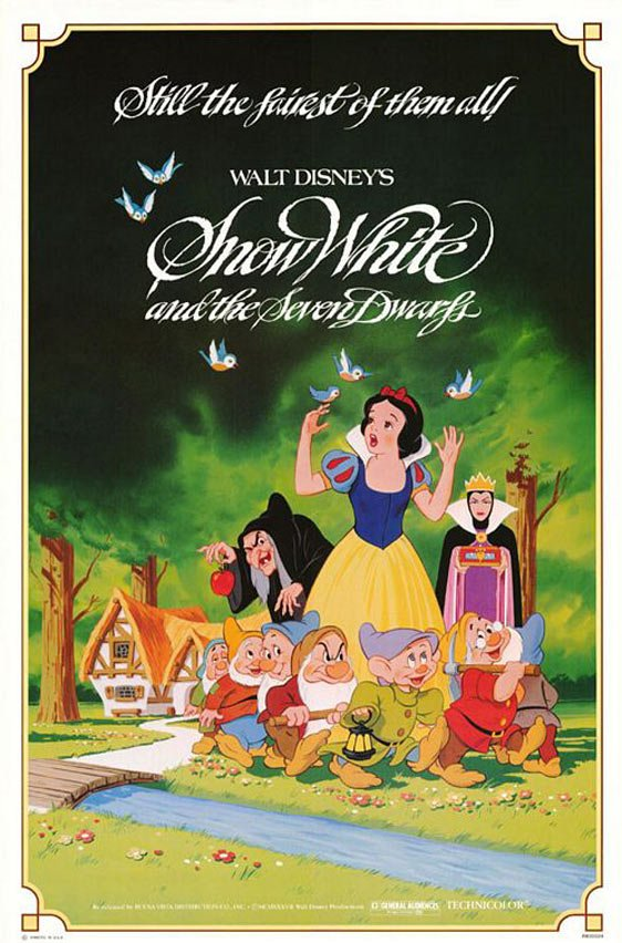 Snow White and the Seven Dwarfs Poster #4