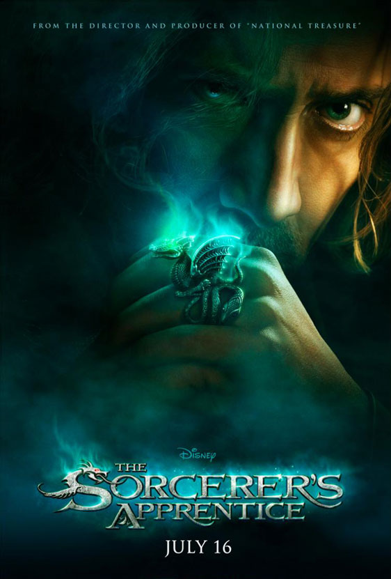 The Sorcerer's Apprentice Poster #1