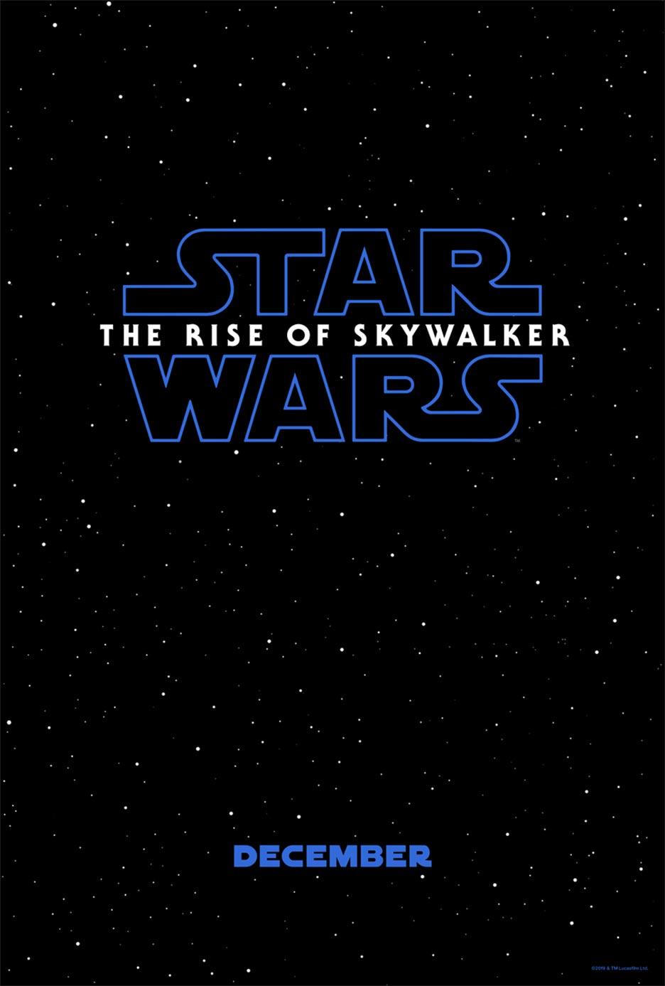 Star Wars: The Rise of Skywalker Poster #1