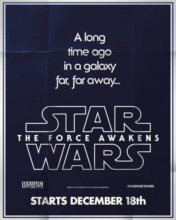 Star Wars: Episode VII - The Force Awakens Poster #13