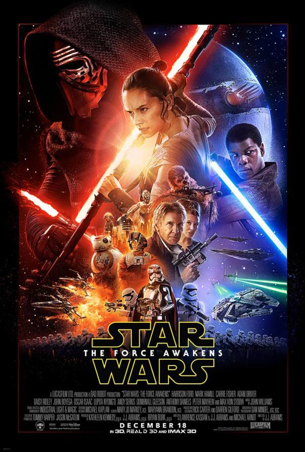 Star Wars: Episode VII - The Force Awakens Poster #2