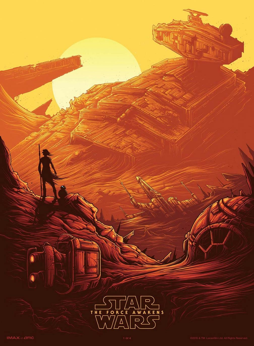 Star Wars: Episode VII - The Force Awakens Poster #4