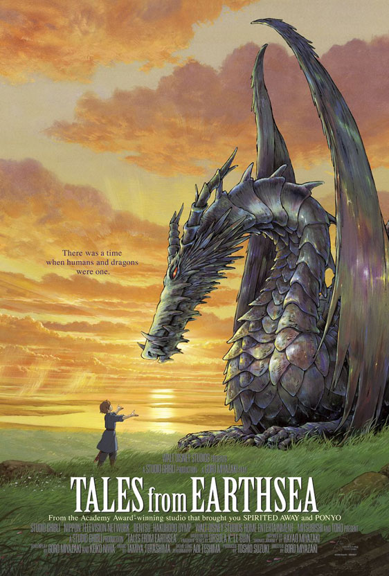 Tales from Earthsea Poster #3