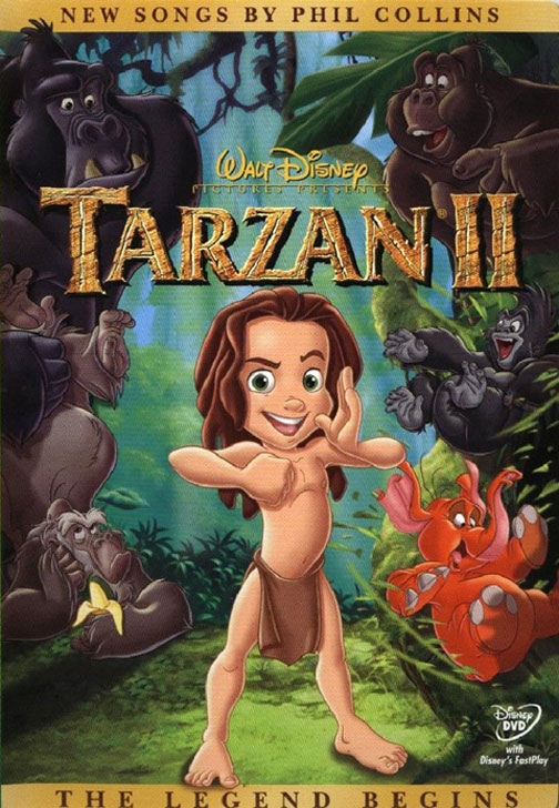 Image result for tarzan 2 movie poster