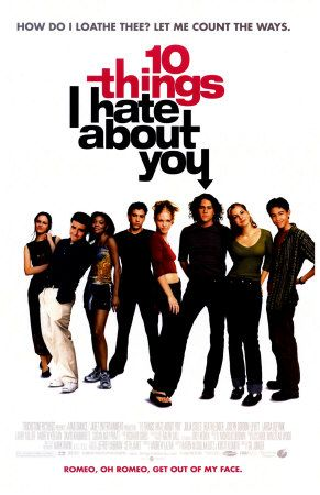 top ten things i hate about If 10 things i hate about you isn't on your top 10 chick flicks list, you're wrong 10 things i hate about you  ten things i hate about you,.